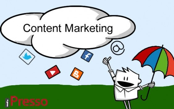 30% of B2B marketers say their companies are effective at content marketing