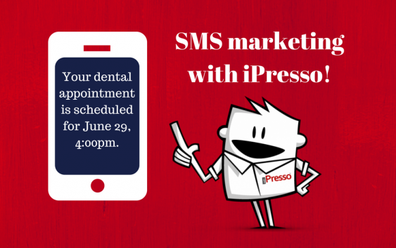 Successful SMS marketing campaigns with iPresso's advanced SMS PRO feature