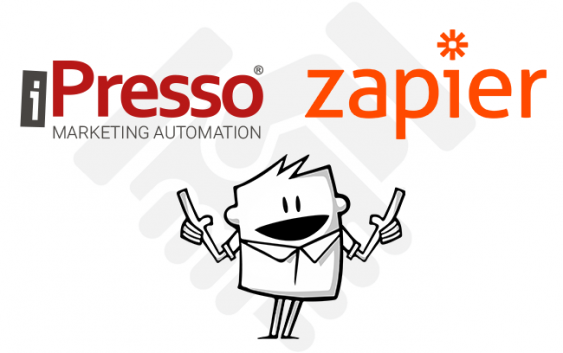 iPresso is now integrated with Zapier, a powerful tool for connecting web apps