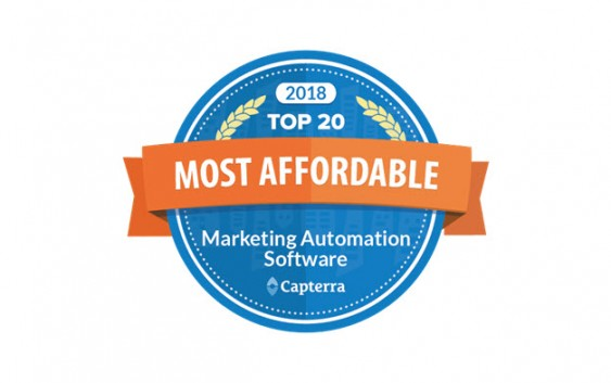 iPresso Among Capterra's Top 20 Most Affordable MA Software Again!