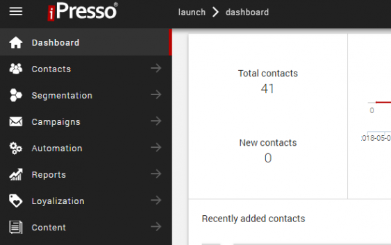 New, Smart And Intuitive Nagivation Coming Soon To iPresso!